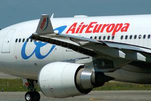 Air Europa iniciará el 1 de mayo sus vuelos entre las islas Baleares