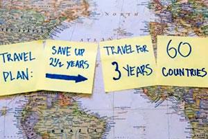 Como conocer 60 países en 3 años