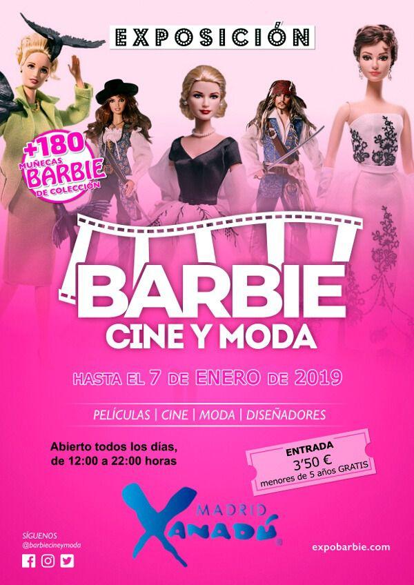 La Mayor Exposicion De Barbie Ambientada En El Mundo Del Cine Y La