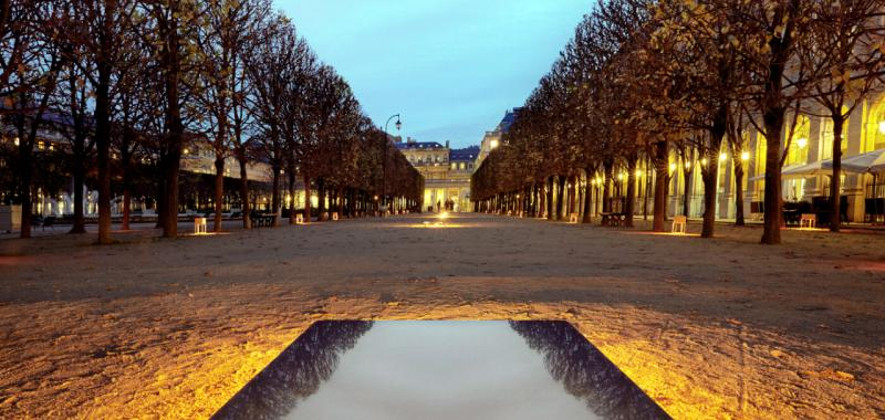 Gardens of Light I Palais Royal