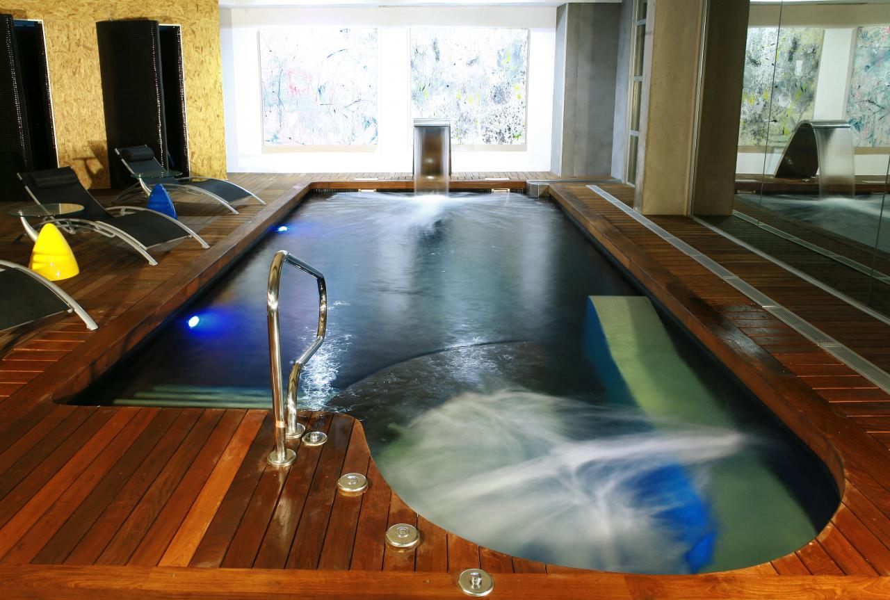 Los mejores hoteles con spa de espa a de 2014 inout viajes - Hotel a sillian con piscina ...