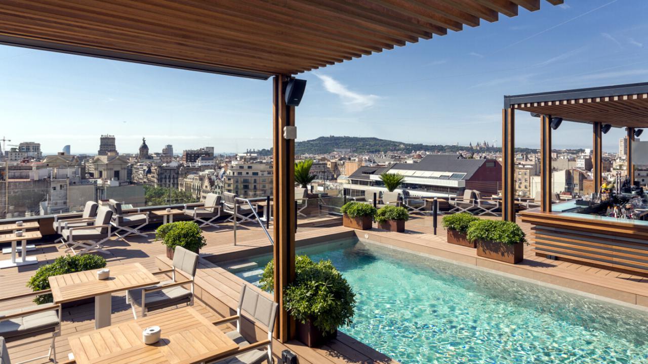 Vuelve A Abir Sus Puertas La Terraza Del Hotel Majestic De